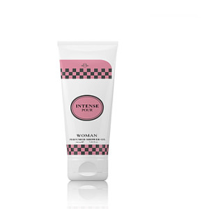 SHOWER GEL INTENSE POUR PINK WOMAN