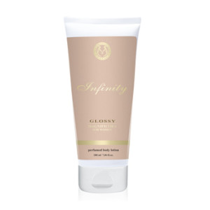 infinity glossy body lotion
